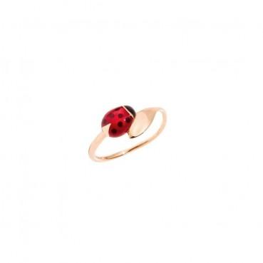 DoDo Anillo Ladybug en Oro...